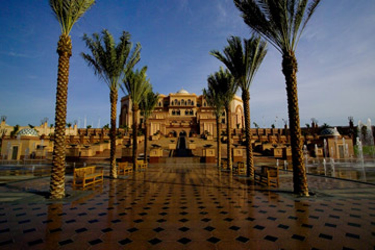Abu Dhabi Luxury Recharge Package